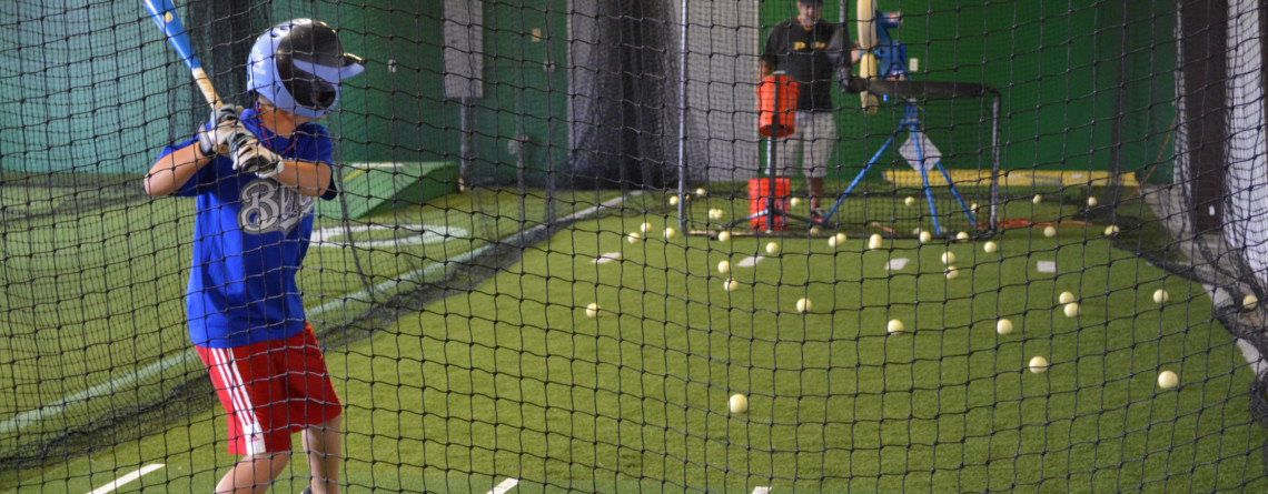 Indoor Batting Cage Rental