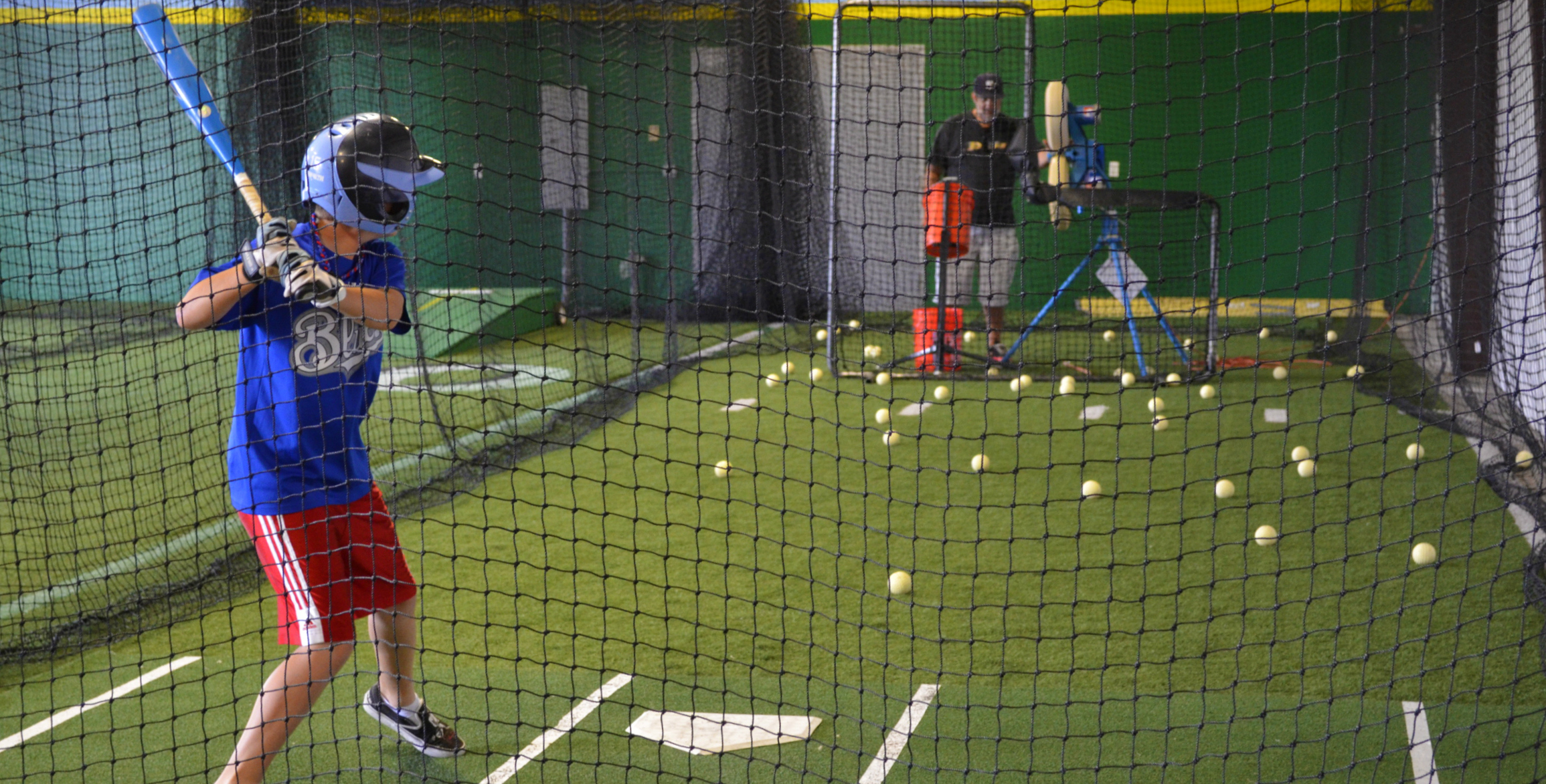 Indoor Batting Cage Al